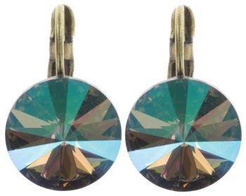 earring-eurowire-rivoli-green-crystal-paradise-shine-5450543316567